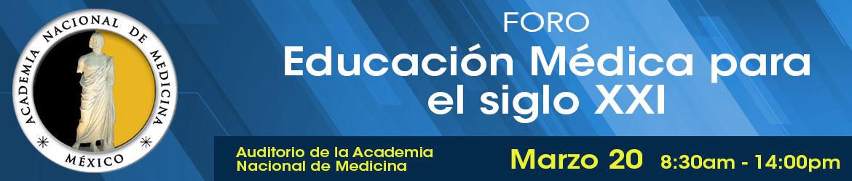 Foro Educación Medica Siglo XXI