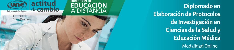 Diplomado en Elaboración de Protocolos de Investigación en Ciencias de la Salud y Educación Médica